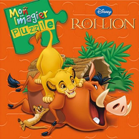 Le Roi Lion - Mon imagier puzzle