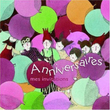 Anniversaires - Mes Invitations