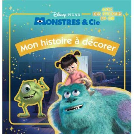 Monstres & Cie - Mon histoire à décorer