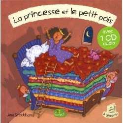 La princesse et le petit pois + CD audio