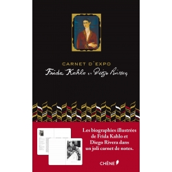 Carnet d'expo Frida Kahlo & Diego Rivera