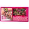 Le kit Loom - Bracelets, colliers et autres accessoires - 600 élastiques, 1 métier à tisser, 1 crochet et 24 fermoirs