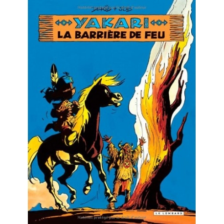 Yakari - La barrière de feu