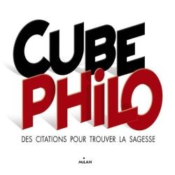 Cube philo - Des citations pour trouver la sagesse