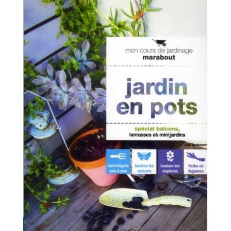 Jardin en pots