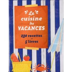 La cuisine des vacances - 230 recettes 5 livres