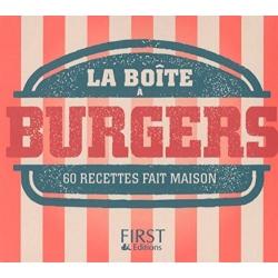 La boîte à burgers - 60 recettes fait maison