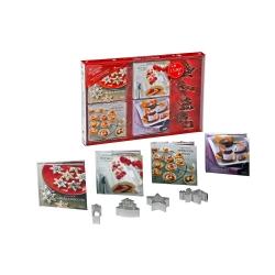 Coffret 4 mini-livres - Recettes de Noël
