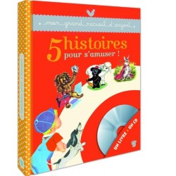5 Histoires pour s'amuser - Un livre + un CD audio