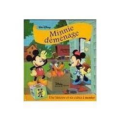 Minnie déménage - Une histoire et six cubes à monter