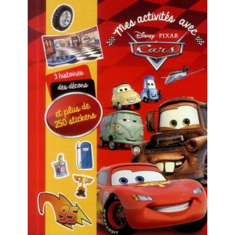 Mes activités avec Cars et plus de 500 stickers