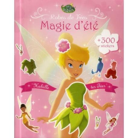 Robes de Fées -Magie d'été + 300 stickers