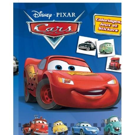 Cars quatre roues - Coloriages, jeux et stickers