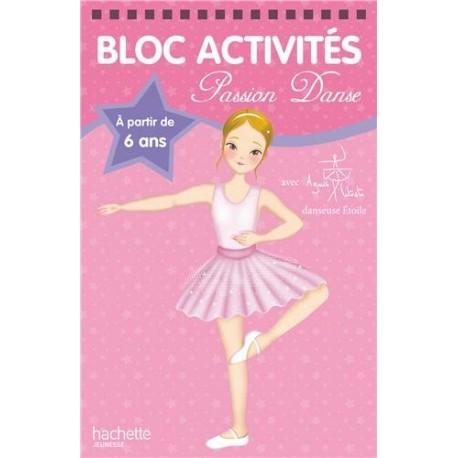 Bloc activités - Passion danse rose