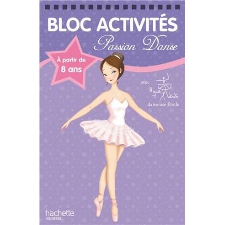 Bloc activités - Passion danse violet