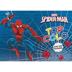 Top colo - Spider-Man avec des stickers