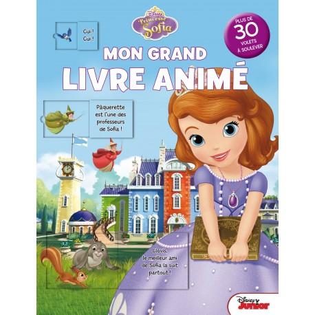 Mon grand livre animé - Princesse Sofia