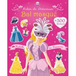 Bal masqué - Habille les princesses + 300 stickers