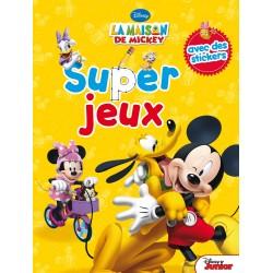 Super jeux La maison de Mickey - avec des stickers