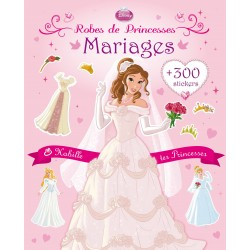 Robes de Princesses - Mariages - Plus de 300 stickers