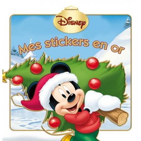 Mes stickers en or - Mickey