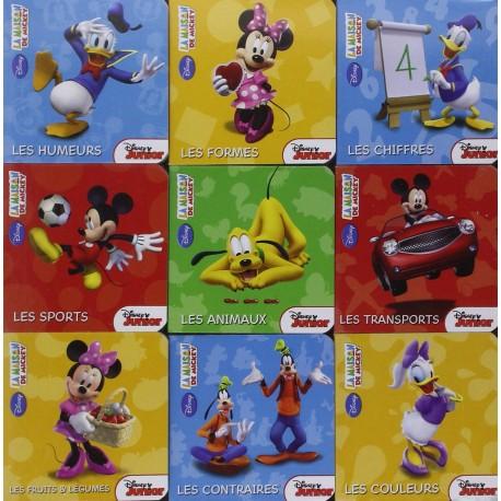 La Maison de Mickey - Premières notions en Coffret 9 livres