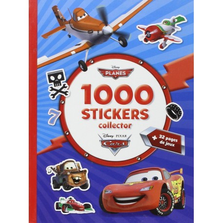 1000 stickers collector Planes et Cars
