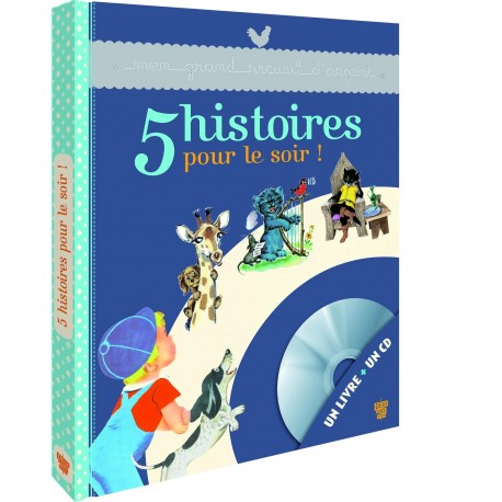5 histoires pour le soir - Un livre + un CD