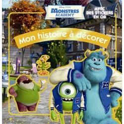 Monstres Academy - Mon histoire à décorer