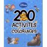 200 activités et coloriages