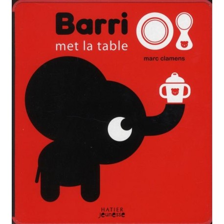 Barri met la table