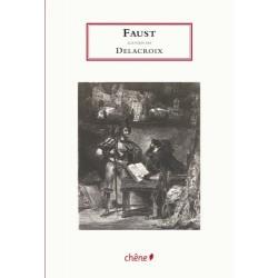 Faust Goethe illustré par Eugene Delacroix