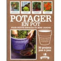 Potager en pot pour petits espaces et mini jardin