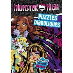 Monster High - Puzzles diaboliques - 5 puzzles de plus de 80 pièces
