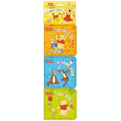 Winnie l'Ourson - Mes 3 livres bain - Les contraires, Les formes, Les chiffres