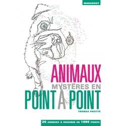 Animaux mystères en point à point - 20 animaux à dessiner en 1 000 points