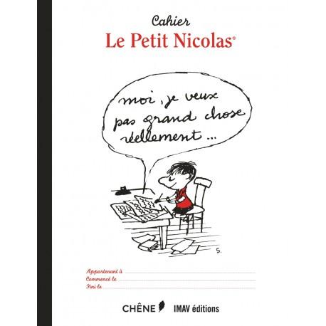 Cahier le Petit Nicolas (Carnet vierge pour prendre des notes)