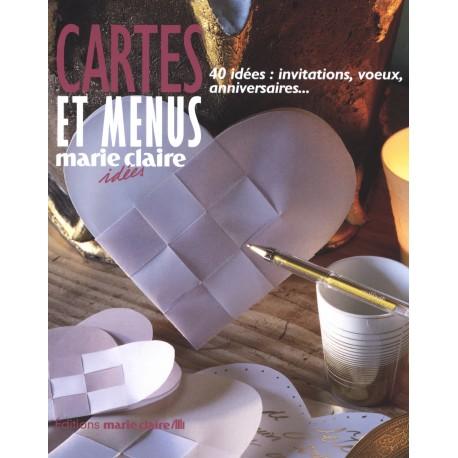 Carte et menus - 40 idées : invitations, voeux, anniversaires…