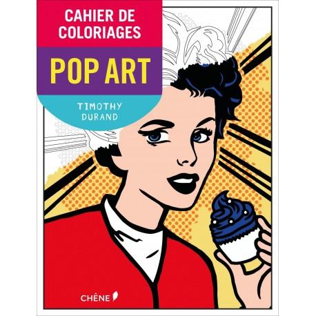 Cahier de coloriages - Pop Art