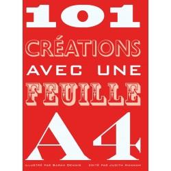 101 créations avec une feuille A4