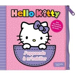 Hello Kitty - J'apprends à m'habiller - Avec des boutons, des fermetures, des lacets…