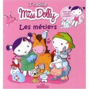 J'habille Miss Dolly - Les métiers