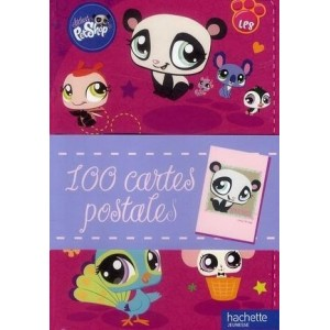 Littlest PetShop - 100 cartes postales à collectionner