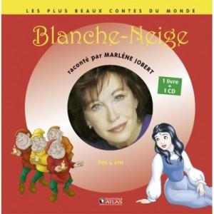 Blanche-Neige - 1 livre + 1 CD (audio)