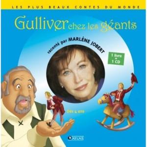 Gulliver chez les géants - 1 livre + 1 CD (audio)