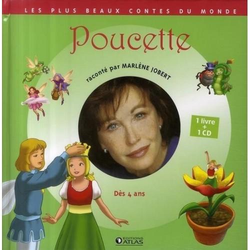 Poucette - 1 livre + 1 CD (audio)