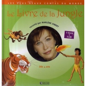 Le livre de la jungle - 1 livre + 1 CD (audio)