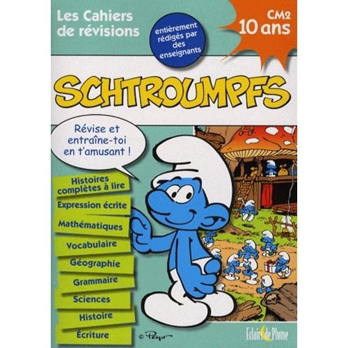 Les cahiers de révisions Schtroumpfs - 10 ans CM2