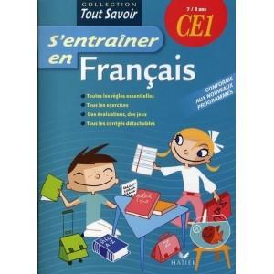 S'entraîner en Français CE1 - 7/8 ans