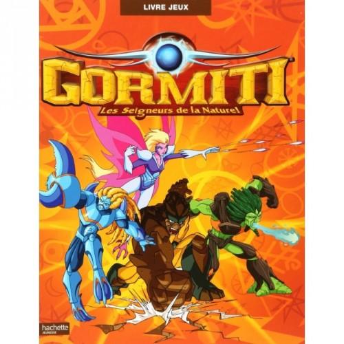 Livre jeux - Gormiti, les seigneurs de la nature !